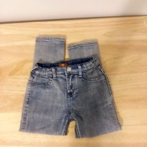 7 For All Mankind 7FAM size 4T girls Skinny Jeans